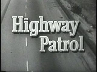 Highway Patrol Complete 1950s TV Series DVD Broderick Crawford Police
