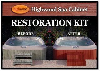 Highwood Spa and Hot Tub Cabinet Restoration Kit