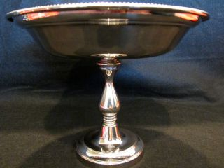 Silver Compote or Bowl on Stand St Hilaire