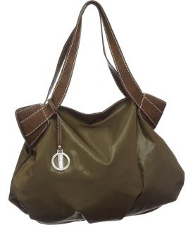 Olive Green and Brown The Outfield Tote DesignerHilary Radley