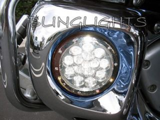 Honda Valkyrie Interstate GL1500CF F6C Blue LED Fog Lamps Driving