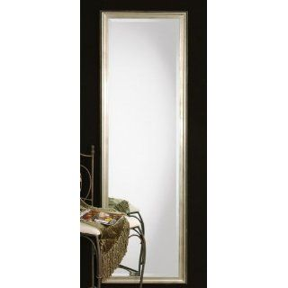 XL Long Full Length Silver Wall Floor Mirror Wood Extra