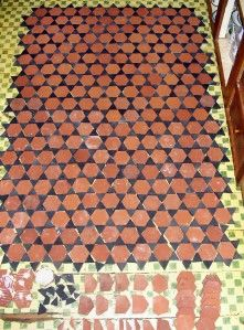 Mercer, Jewish Star of David Pattern or your own   4 x 6 700 Tiles