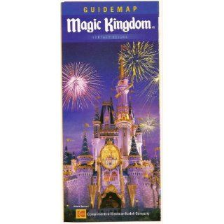 2006 walt disney world Magic Kingdom Guide map Everything