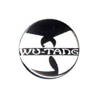 Wu Tang Clan   Logo (White And Black)   1 Button / Pin