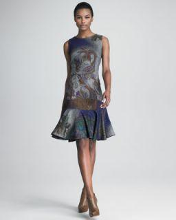 RED Valentino Metallic Cardigan & Knit Dress
