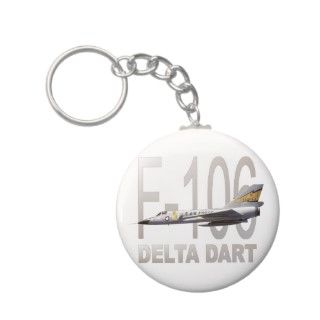 106 Delta Dart Fighter Jet Aircraft Keychains