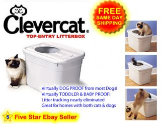 Clevercat Top Entry Litterbox Clever Cat Litter Box New