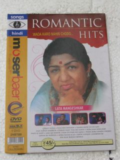 NAHIN CHODO Romantic Hits Lata DVD Hindi Video Songs bollywood India
