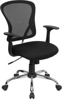 Swivel Tilt Home Office Den Task Desk Chairs with Arms