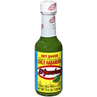 Click to enlargeEl Yucateco Green Chile Habanero Hot Sauce Pepper