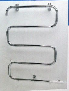 Warmrails Heatra Fina Heated Warming Drying Towel Rack Wall or Floor