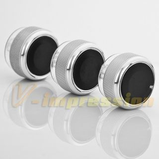 air conditioner a c control knob heater panel switch silver for mondeo