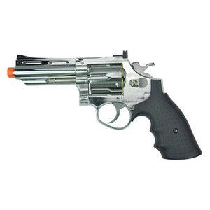 HFC 4 inch 357 Magnum Revolver Green Gas Propane Airsoft Pistol Gun
