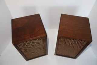 Vintage Heath Heathkit AS 81 (AS81) bookshelf speakers with Jensen