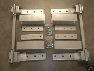 This auction is for a complete hidden/suicide door hinge kit. This
