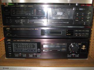 Vintage JVC 3 PC Stereo System Tuner Amplifier Cassette Tape Deck