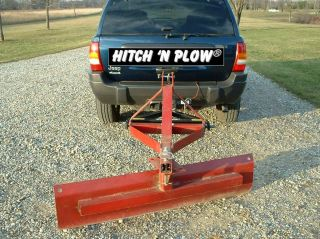 Hitch N Plow 3 Point Hitch Adapter Low Cost Snow Plow