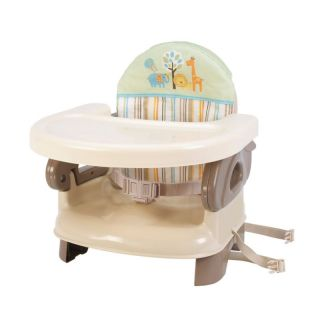 Deluxe Comfort Booster Baby Seat High Chair Feeding Tan New