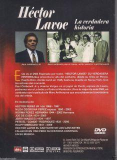DVD La Verdadera Historia de Hector Lavoe En Su Propia Voz