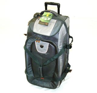 High Sierra 32 Drop Bottom 3 N 1 Wheeled Upright Backpack Duffel Bag