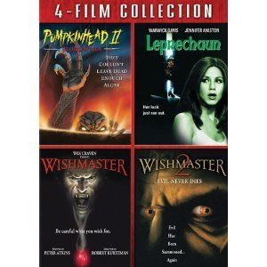 Four Film Movie Pack 4 Horror Films 2 DVD Set