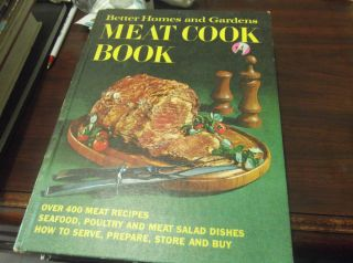 Meat Cook Book Better Homes Gardens