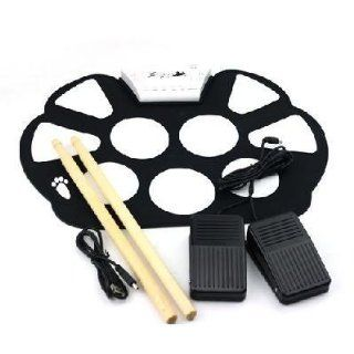 Jianxiu Portable 9 Pads Drum Roll Up Drum Kit High Quality