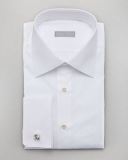 stefano ricci basic french cuff dress shirt white $ 600