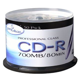 ProMedia CD R 32x 700MB/80Min (50 Pack Spindle) Silver