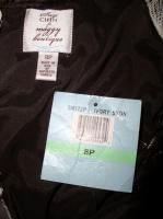 Alex Evenings Womens Wedgewood Long Dress w Mandarin Jacket Sz 8 $179