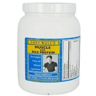 Gary Nulls   Muscle with Rice Protein Powder Cherry