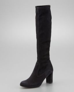 Black Stretch Boots