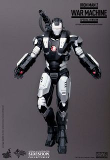 War Machine Sideshow Hot Toys Movie 12 Figure Special Edition
