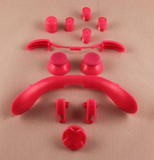 Xbox 360 Controller Pink ABXY Lt RT lb RB Thumbstick D Pad Parts