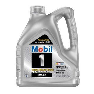 Mobil 1 44999 Turbo Diesel Truck 5W 40 Synthetic Motor Oil   1 Gallon