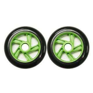 Razor Scooter Replacement Wheels Set with Bearings (black