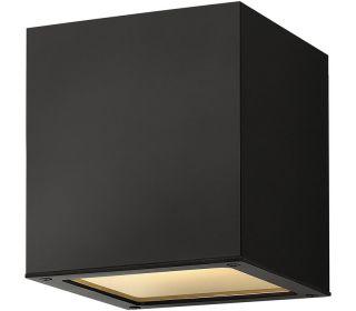 Hinkley 1763SK, Kube Cast Aluminum Outdoor Ceiling Lighting, 75 Watts
