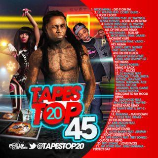 Pop Hip Hop R B New Hits Tapes Top 20 45 Mixtape