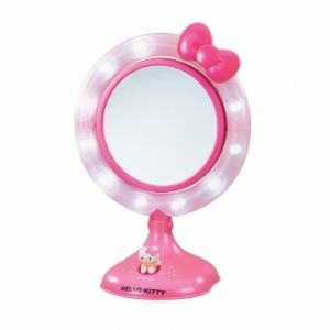hello kitty kt3020 lighted make up mirro note the condition of this