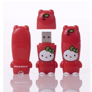 2GB Mimobot Mimobots Hello Kitty 5 Sanrio Flash Drive