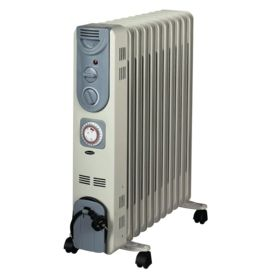 Hotpoint Heater HPOH24T 2400W Timer Electric Oil Filled Radiator