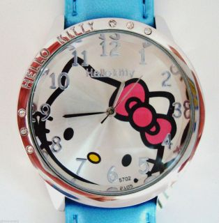 NEW HELLO KITTY BLUE WATCH