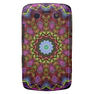 Chaotic Star Kaleidoscope Blackberry Bold Cover