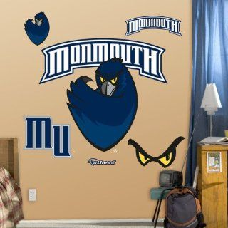 Monmouth University Logo Wall Decal 41 x 36 in