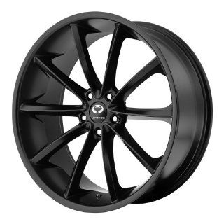 22x8.5 Lorenzo WL32 (Satin Black) Wheels/Rims 5x115 (WL03222815720