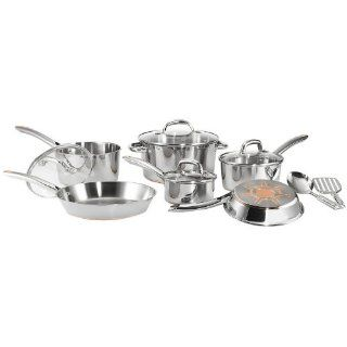 T fal C798SC64 Ultimate Stainless Steel Copper Bottom