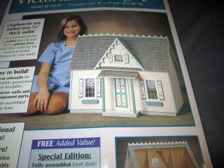 Victorian Cottage Jr Doll House Kit