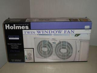 """Holmes Twin Window Fan 7"""""""