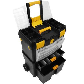 Handyman Tool Box Storage Home Auto Garage Kitchen Garden Tools